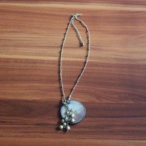 Lia Sophia gold toned necklace